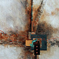 Abstract With Stud Edge by Joanne Smoley