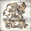 Abstraction 2807 by Marek Lutek