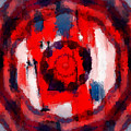Abstraktes Kaleidoskop by Ilona Burchard