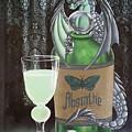 Absinthe Dragon by Mary Hoy
