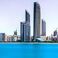 Abu Dhabi Corniche by Nadir Khan