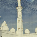 Abu Dhabi Minaret Art by Adam Asar