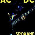 Ac Dc Rocks 2 by Ben Upham