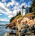 Acadia Bass Harbor Lighthouse by Christopher Arndt