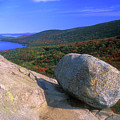 Acadia Bubble Rock by John Burk