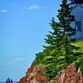 Acadia Lighthouse by Dave Thompsen
