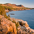 Acadian Cliffs In Autumn 1 by Susan Cole Kelly