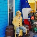 Acadian Fisherman, Prince Edward Island, Canada by Mary Capriole