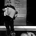 Accordian Player by Todd Fox