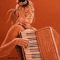 Accordion Girl by Michael Beckett
