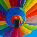Ascending Hot Air Balloon by Anthony Sacco