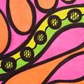 Aceo Abstract Design by Jill Christensen