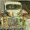 Aceo No 4 Old Ford Truck And Barn Wc by David King