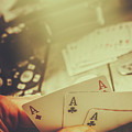Aces Up The Sleeve by Jorgo Photography - Wall Art Gallery