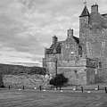 Ackergill Tower 1190 Bw by Teresa Wilson