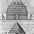 Acolapissa Temple & Cabin by Granger