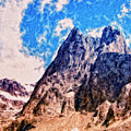 Aconcagua Blue Sky by Dominic Piperata