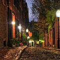 Acorn Street - Boston, Ma by Joann Vitali