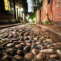 Acorn Street Cobblestone Detail Boston Ma by Toby McGuire