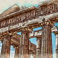 Acropolis I by Ronald Bolokofsky