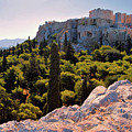 Acropolis In The Morning Light by Camelia C
