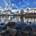 Across Jenny Lake by John Christopher