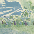 Across The Fields by Edouard Vuillard