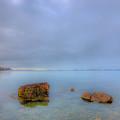 Across The Harbor 2 by David Henningsen