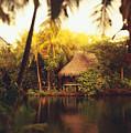 Across The Lagoon by Dana Edmunds - Printscapes