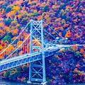 Across The Other Side Of Bear Mountain Bridge by William Rogers