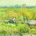 Across The Park by Childe Hassam