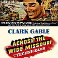 Across The Wide Missouri  by Movie Poster Prints