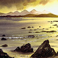 Across To Gigha And Jura by Paul Dene Marlor
