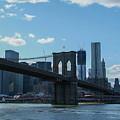 Across To Manhattan New York New York by Christal Randolph