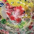 Acrylic Abstract 15-u.uuu by Virginia Margarita
