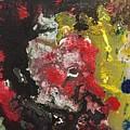 Acrylic Abstract 15-v.vvv by Virginia Margarita