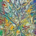 Acrylic Fire 2005 by Carl Deaville