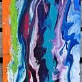 Acrylic Pouring by Melanie Gomez