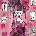 Acrylic Variations Kitri by Dalene Woodward