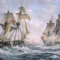 Action Between U.s. Sloop-of-war 'wasp' And H.m. Brig-of-war 'frolic' by Richard Willis