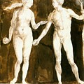 Adam And Eve 1504 by Durer Albrecht