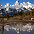 Adam Jewell At Schwabacher Landing by Adam Jewell