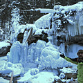Adam Jewell Hiking In Maligne Canyon by Adam Jewell
