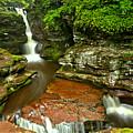 Adams Falls Landscape by Adam Jewell
