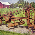 Adams Leaning Wheel Grader by Guy Whiteley