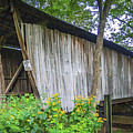 Adams/san Toy Covered Bridge  by Jack R Perry
