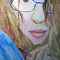 Addie In Blue by Sandy McIntire