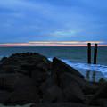 Adding Color To Buckroe Beach  by Ola Allen