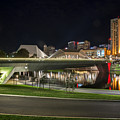 Adelaide Riverbank At Night II by Ray Warren