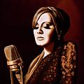 Adele Skyfall Gold by Paul Meijering